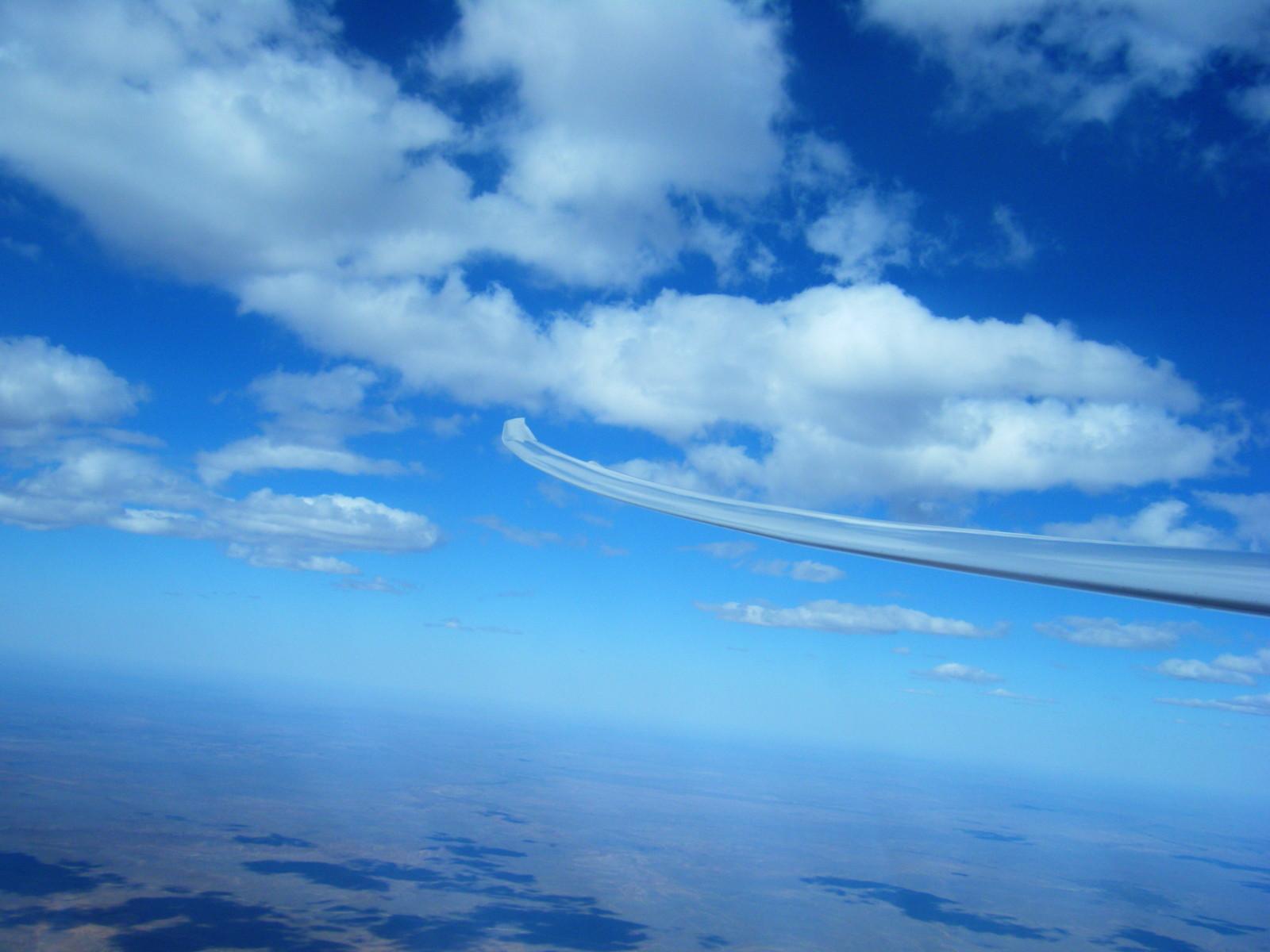 nette Cumulus-Wolken